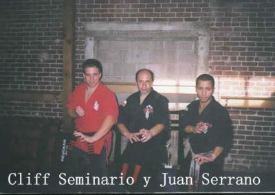 Cliff Seminario y Juan Serrano